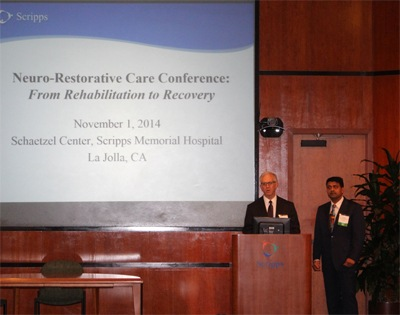 Drs Michael Lobatz and Harish Hosalkar as Co-Directors, introducing the faculty at NRC