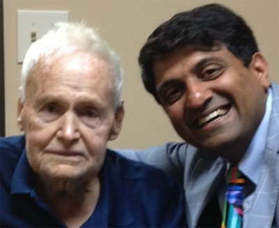Kinneth L. Boyett with Dr. Hosalkar
